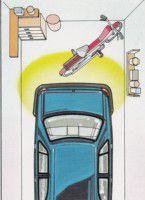 Electromagnetic Parking Sensor box