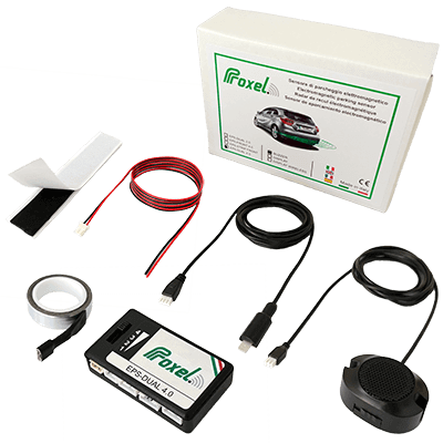 Kit proxel sensores aparcamiento electromagneticos invisibles eps dual 4.0