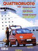 Article radar de recul EPS Quattroruote agosto 1998