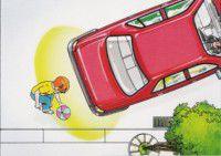 Sensori di parcheggio elettromagnetici ostacoli